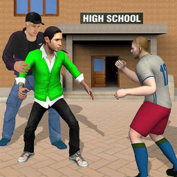 Gangster in High School - New Fighting Games 2020
