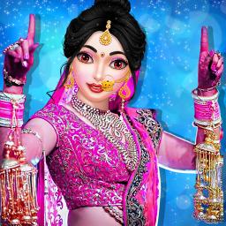 Stylist Fashion Indian Wedding Games for Girls