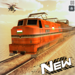 Indian Train Shooting- New Train Robbery Game 2k20