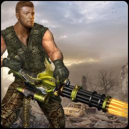 Machine Gun Shoot War Shooter 2k18