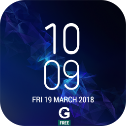Clock - Galaxy S9 Digital(Alarm, Timer, Stopwatch)