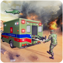 US Army Ambulance Rescue Game.