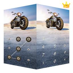 AppLock Theme Motorcycle – Paid Theme