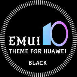 Black Emui-10 Theme for Huawei