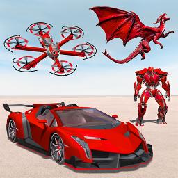Drone Robot Transforming Game