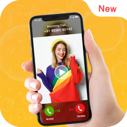 Video Ringtone for Incoming Call: Video Caller ID