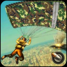 World War ww2 Firing battlegrounds: Free Gun Games