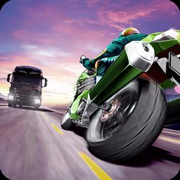 بازی موتور راننده ترافیک (traffic rider)