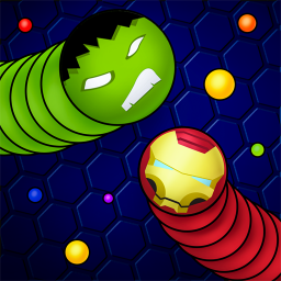 Snaky .io - Slither Battle With Masks