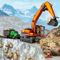 Snow Offroad Construction Game