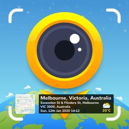 GPS Map Camera: Geotag Photos & Add GPS Location