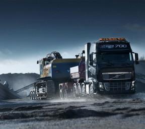 تصویر زمینه کامیون