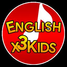 اپلیکیشن آموزش زبان انگلیسی کودکان English X3 Kids