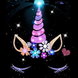 Night Star Unicorn Launcher Theme Live Wallpapers