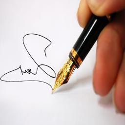 نمونه امضاء+آموزش امضاء