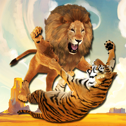 Ultimate Lion Vs Tiger: Wild Jungle Adventure