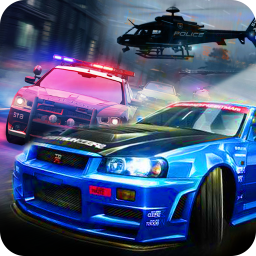 Police Car Chase - smash cars police games