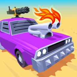 Desert Riders - Car Battle Game