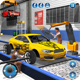 Car Maker Factory Mechanic Game