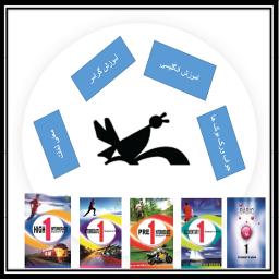 معنی همه ی لغات کتاب های کانون زبان ایران+اموزش گرامر