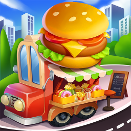 Cooking Travel - Food truck fast restaurant