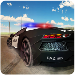 Police Chase Car Driving School: Race Car Games