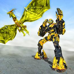 Ultimate Dragon Robot Transform Battle War Game