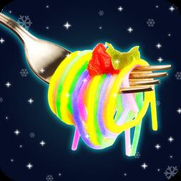 Glow in The Dark Rainbow Pasta Maker! Magic Chef
