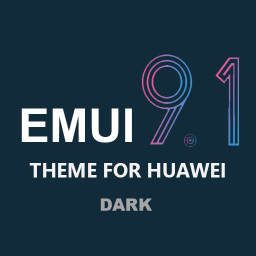 Dark Emui-9.1 Theme for Huawei