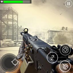 World War Gunner Guns Simulation Game