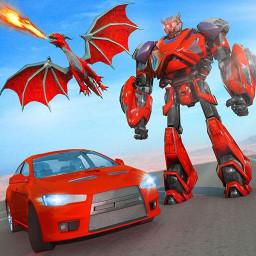 Dragon Robot Car transform – Robot Games