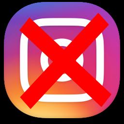 حذف کامل اینستاگرام