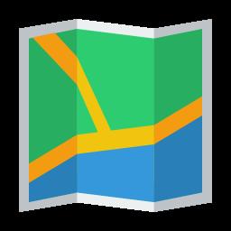 نقشه آفلاین و مسیریابی (اینجا)