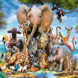 صدای حیوانات+ترانه های کودکانه