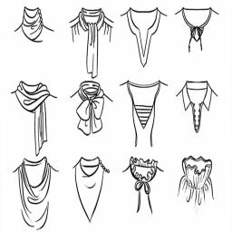 انواع یقه لباس