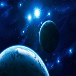 سیارات و کهکشان ها
