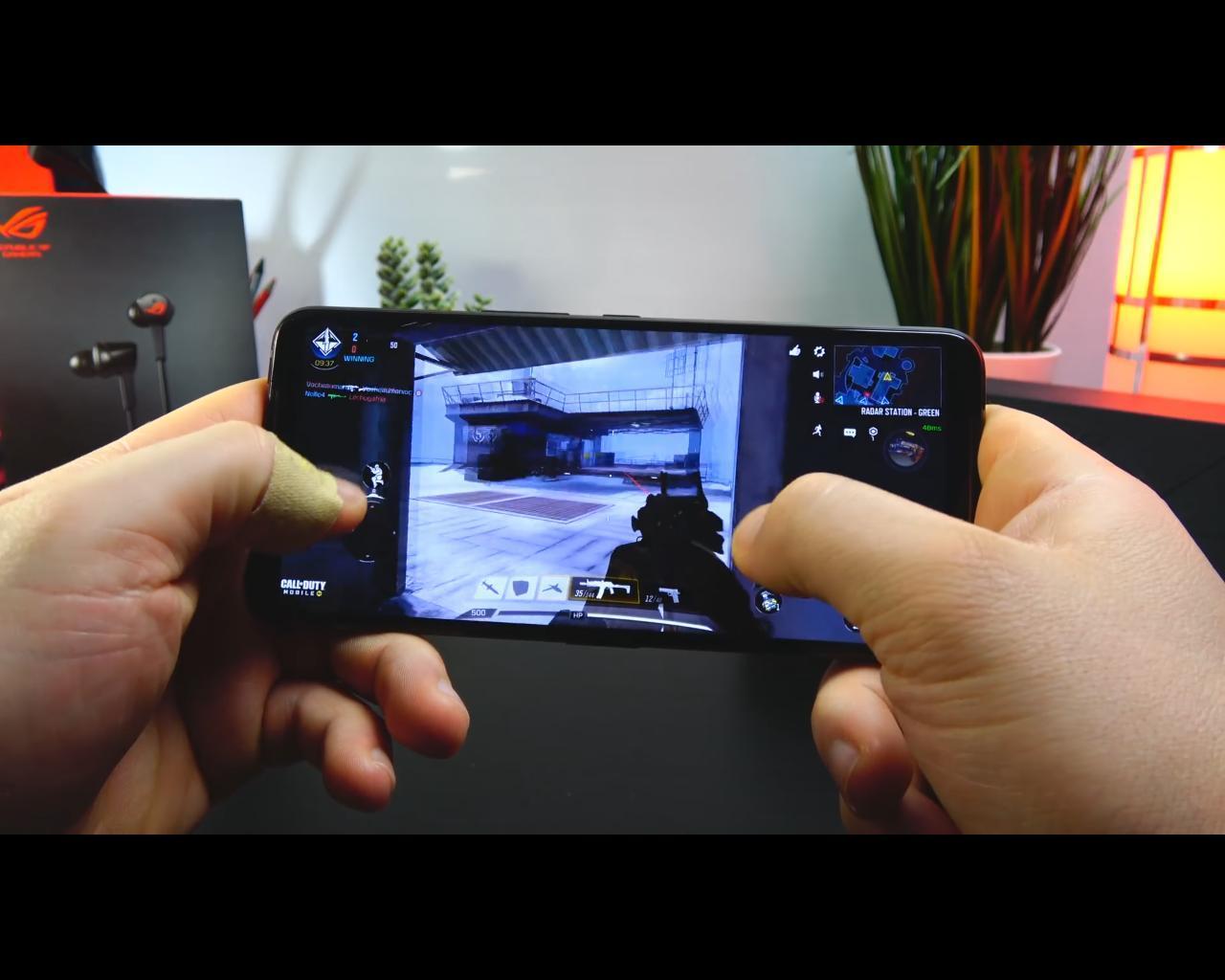 ندای وظیفه:موبایل روی ایسوس راگ فون 2