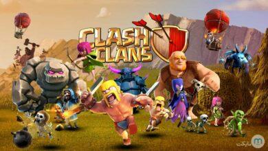 سرباز های کلش اف کلنز / clash of clans troops