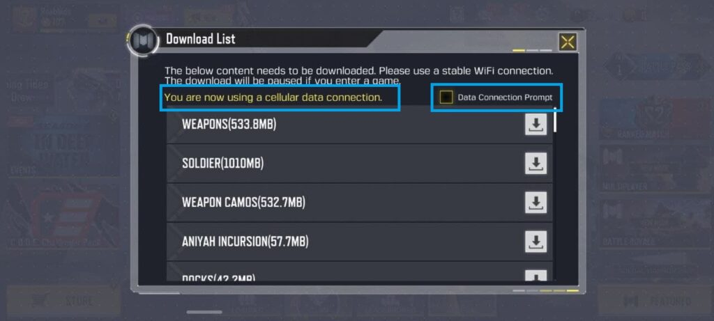 cod mobile updates